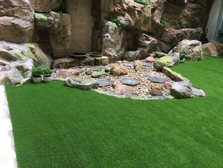 Artificial Grass Installation Project In USM
