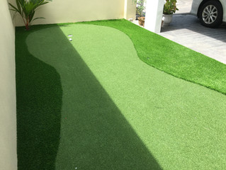 Bring PUTTING GREEN to home as we have Premier Grass ProGreen designed for home putting green soluti