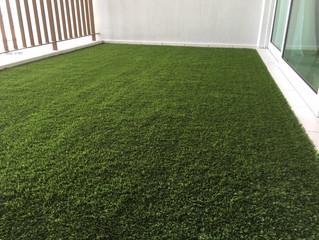 Artificial Grass (Premier Grass) On Luxury Condo Balcony
