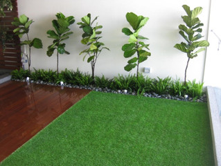 Balcony installed with Artificial Grass (Premier Grass)