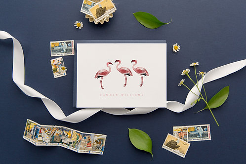 Flamingle Note Cards