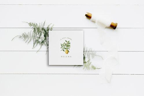 A Little Tart Enclosure Cards
