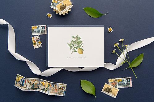 Make Lemonade Folded Note Cards