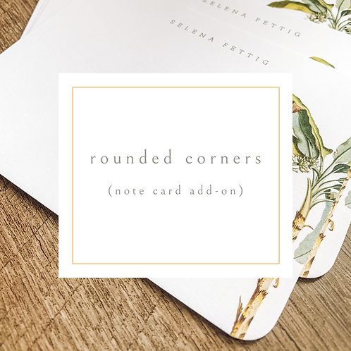 Add Rounded Corners to my Flat Note Card Set