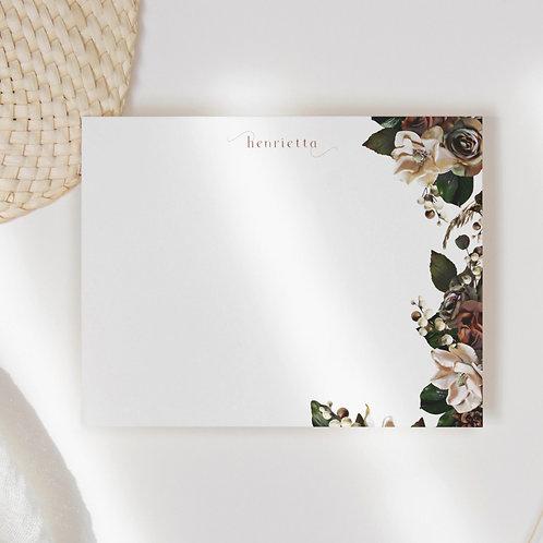 Magnolia Bloom Flat Note Card Set