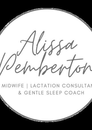 Alissa Pemberton IBCLC Logo No Backgroun