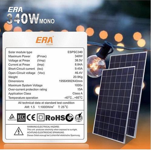Era Solar 340W Monocrystalline Panel (Nigeria)