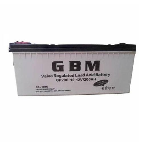 GBM 200AH 12V Deep Cycle Battery (Nigeria)