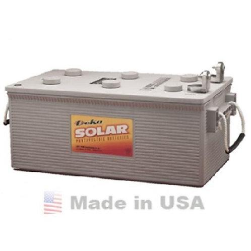 MK Deka 12V/210Ah Gel Solar Inverter Deep-cycle Battery (Nigeria)