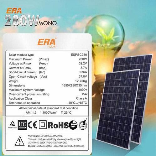 Era Solar 280W Monocrystalline Panel (Nigeria)