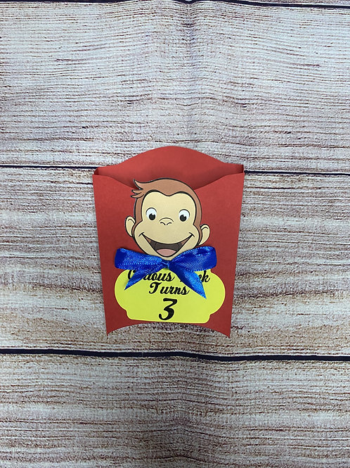 Curious George Treat Box (Pack of 8)