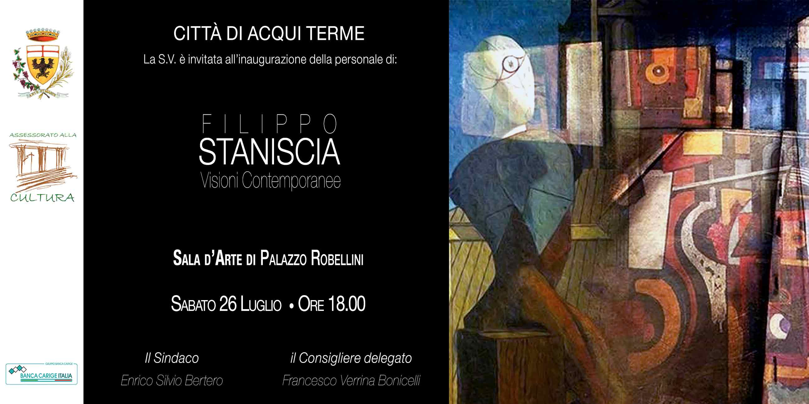 SOLO EXHIBITION ACQUI TERME