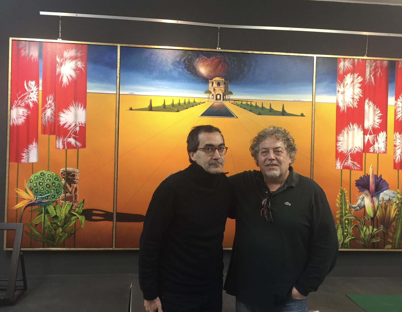 Filippo Staniscia collabora con il Maestro Antonio Nunziante