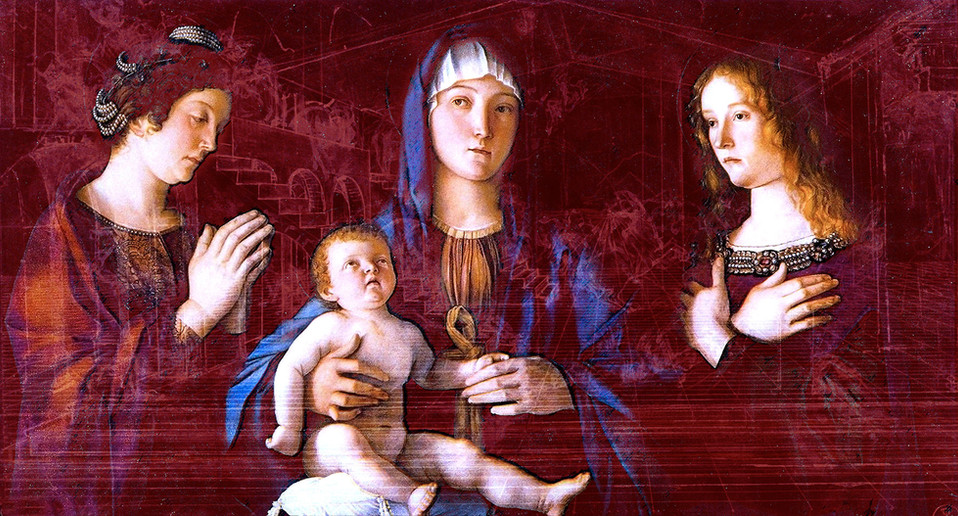 Series Bellini Revisited: NATIVITY