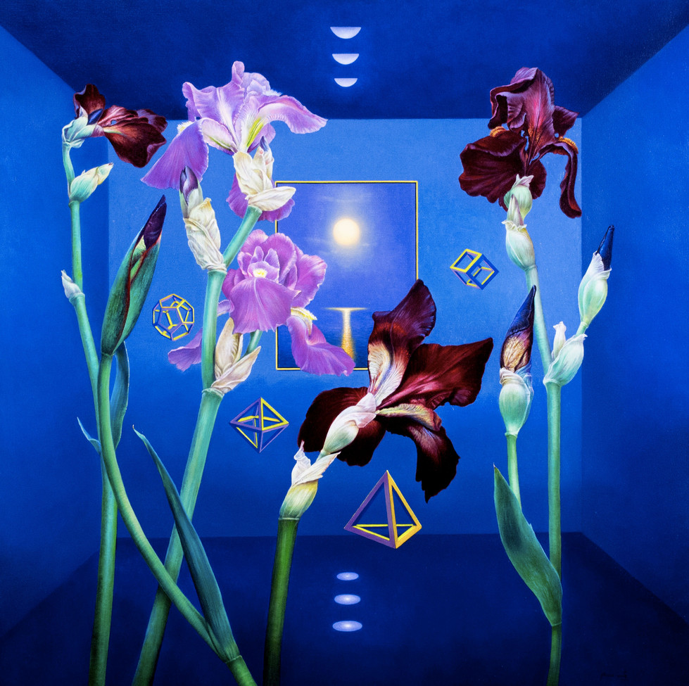 THE FLOWERS DANCE IN THE SECRET ROOM IN THE NIGHT OF THE MOON