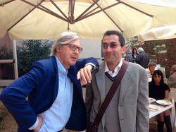 Filippo Staniscia e Vittorio Sgarbi