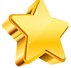 golden-star-isolated-on-transparent-back