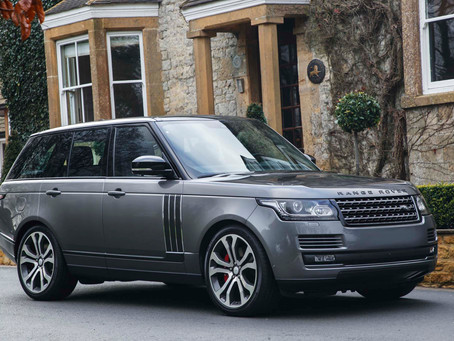 Beautiful 2018 Range Rover Gets Silver Package