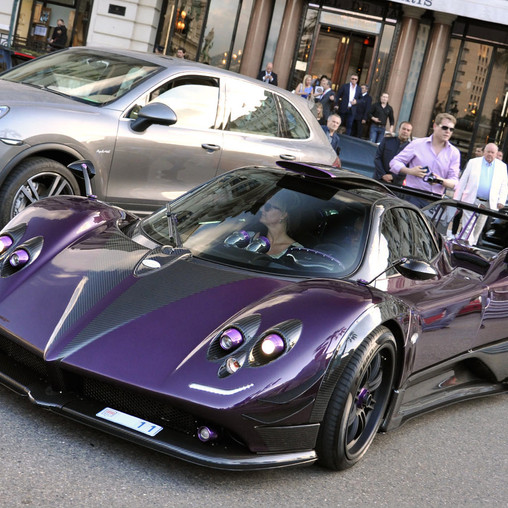 Lewis Hamiltons Car