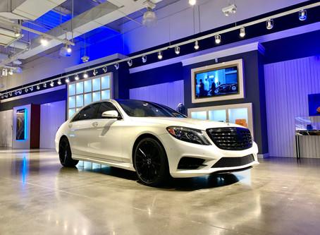 2018 Mercedes S550 White on White Restoration