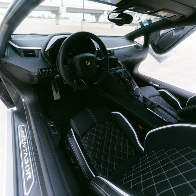Lamborghini Aventador S Leather