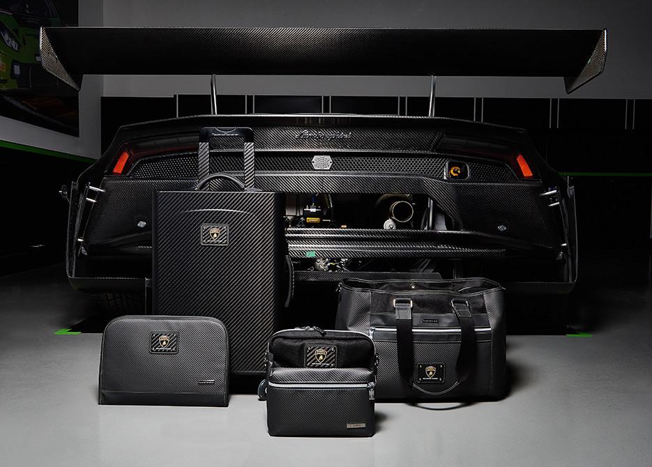 Lamborghini Carbon Fiber Luggage