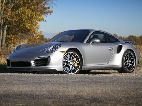 2015 Porsche 911 Turbo: Gold Package + Full Interior Ceramic Pro Package