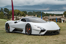 THE GUYS FROM SSC SAY THE TUATARA IS THE ONLY CAR THAT WILL CRACK 300 MPH.
