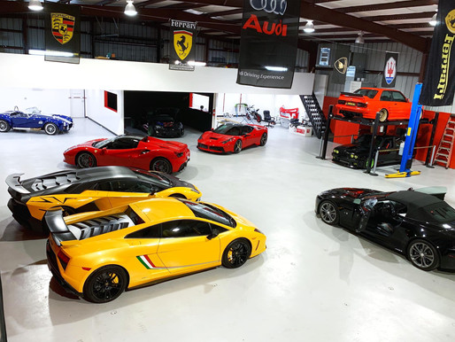 INSIDE IMPERIAL COLLISION: SUPERCAR SPECIALISTS