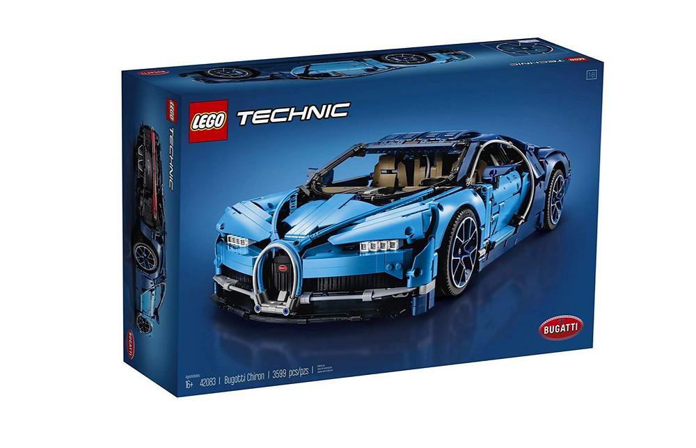 LEGO Technic Bugatti Chiron Car Building Kit