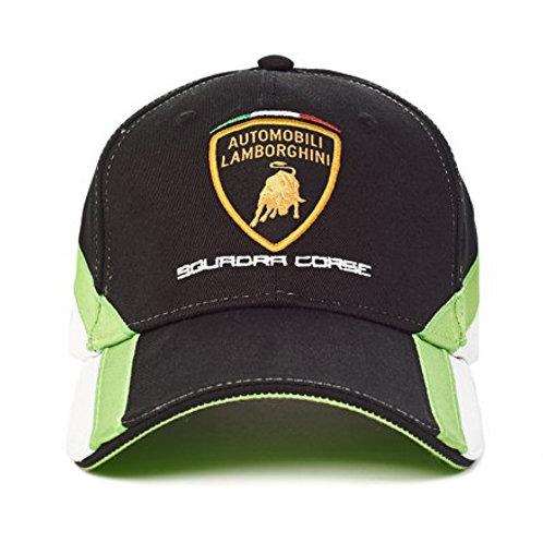 Automobili Lamborghini Squadra Corse Cap, Black