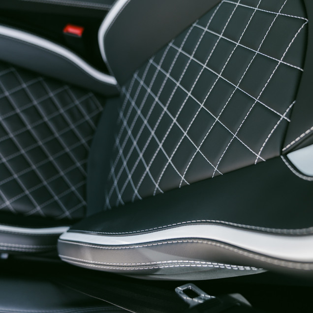 Lamborghini Aventador S Stitching