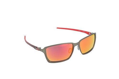 Oakley Men's Tincan Carbon  Iridium Rectangular Sunglasses OO6017-07