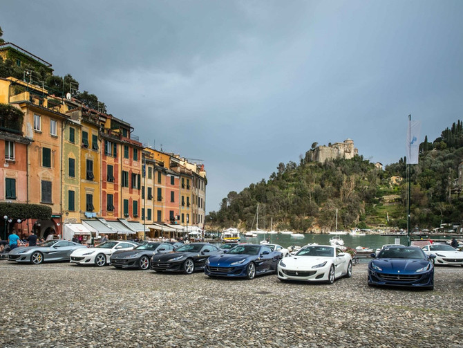 THE FERRARI PORTIFINO TOUR IS HAPPENING RIGHT NOW IN EUROPE AND IT LOOKS AMAZING