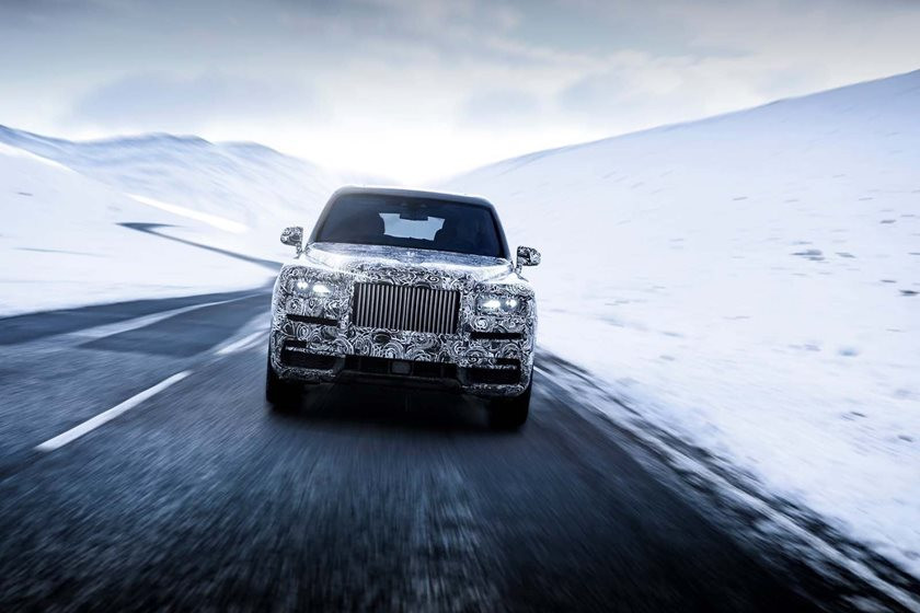 Rolls Royce Cullinan