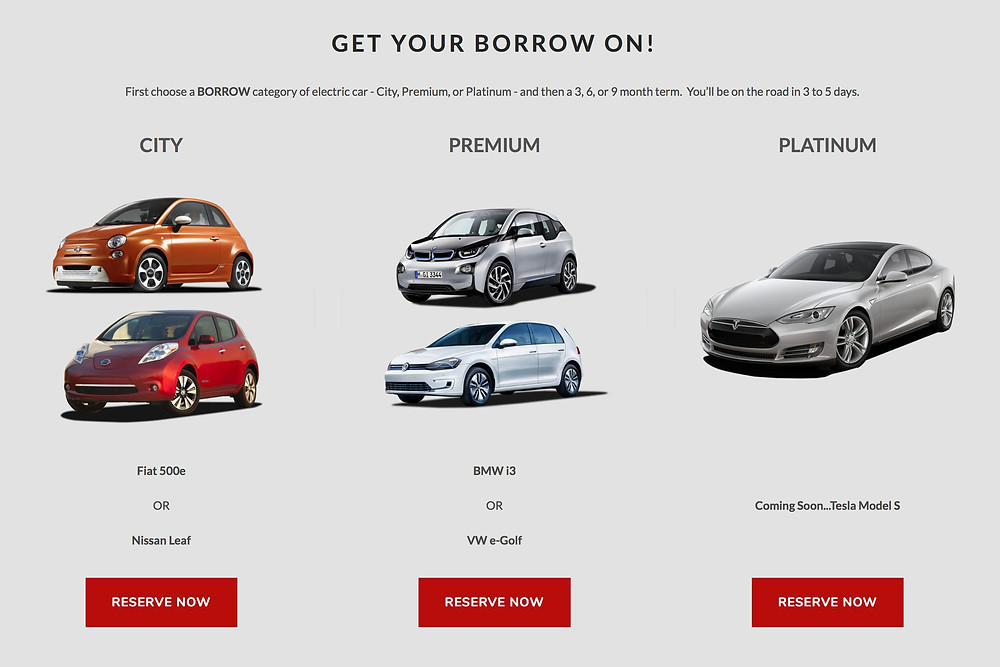 Borrow Car Subscription