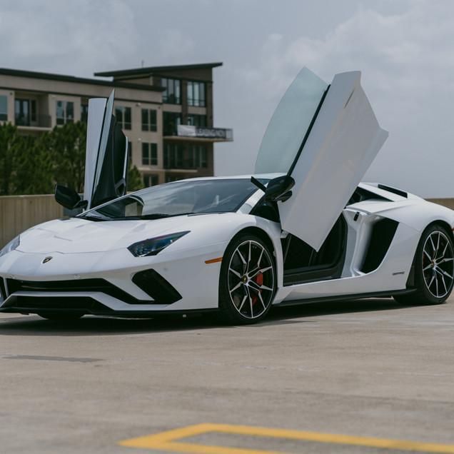 Lamborghini Aventador S Doors