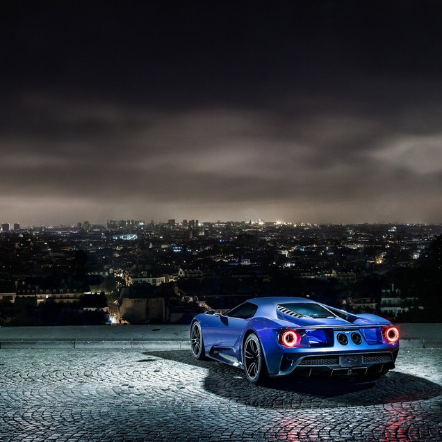 Ford GT Blue