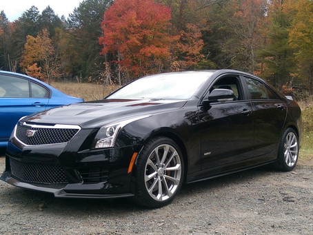 2015 Cadillac CTS V in for Ceramic Pro Gold Package