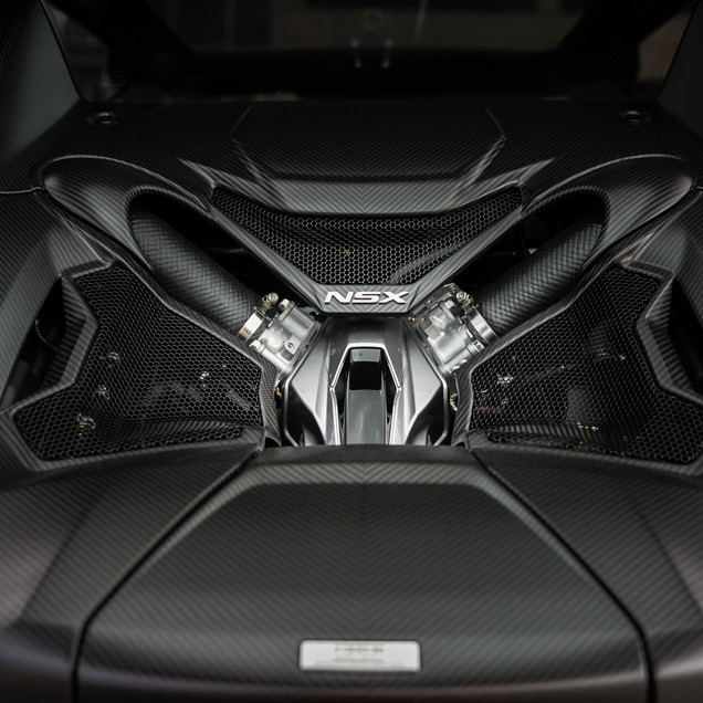 2017 Acura NSX Engine