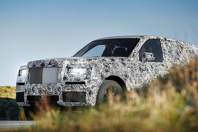 SEE THE NEW ROLLS ROYCE CULLINAN SUV BEFORE YOU'RE SUPPOSE TO!