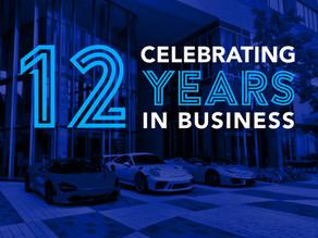 12-Year Anniversary as a Membership Supercar Club