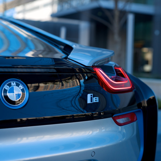BMW i8 Silver