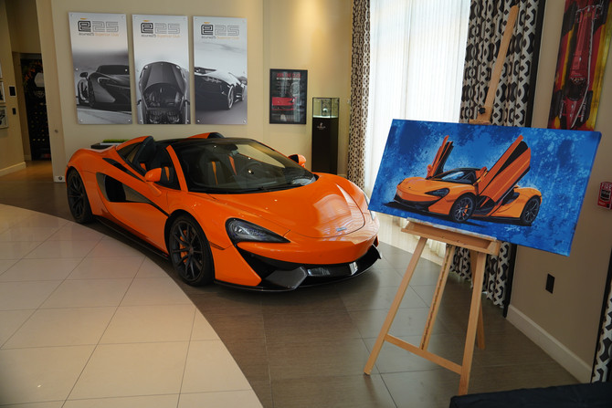 E25 ADDS NEW MCLAREN 570S SPYDER AND ASTON MARTIN V12 VANTAGE S IN HOUSTON!