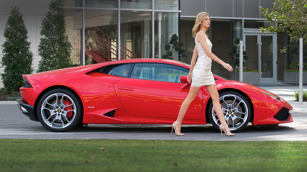 Sexy Lamborghini Huracan