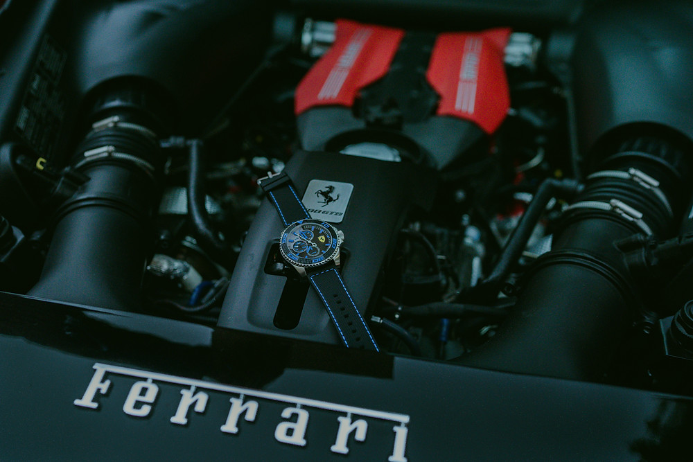 Ferrari Watch Carbon Fiber