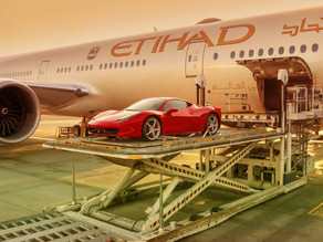 ETIHAD AIRWAYS LET YOU BALL OUT AND BRING YOUR SUPERCAR ON THE PLANE WITH YOU