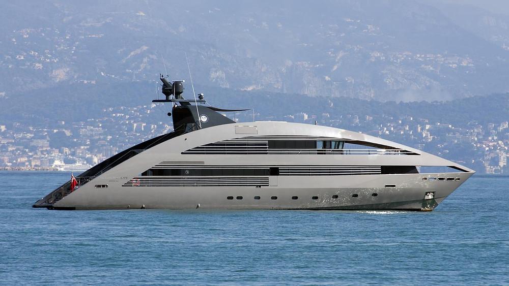 Monaco Grand Prix Yacht