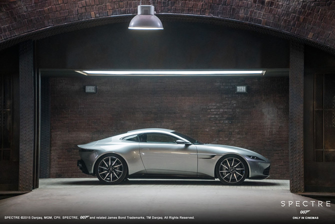 007'S DB10 IS UP FOR SALE