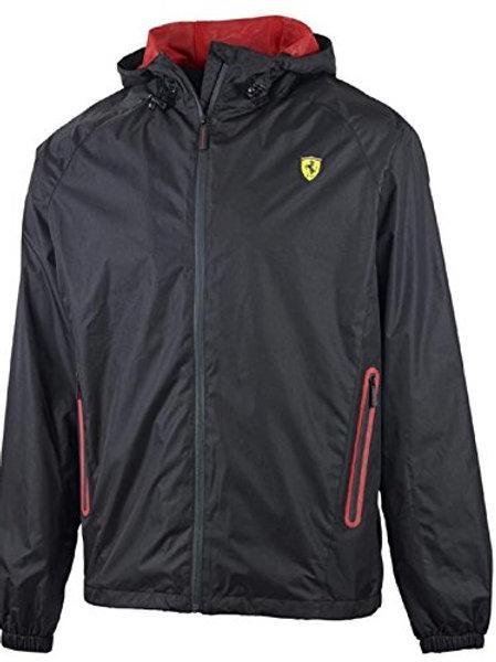 Ferrari Black Shield Windbreaker Jacket